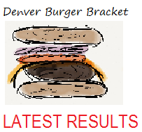 Denver Burger Bracket Latest Results