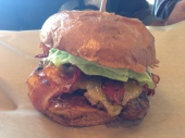 Cheddar Char Burger