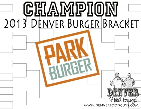 Denver Burger Bracket Winner - Park Burger