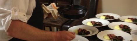 Top Chef Dinner with Hosea Rosenberg
